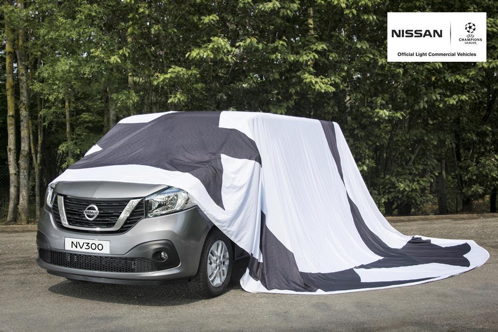 Новый развозной автомобиль Nissan NV300