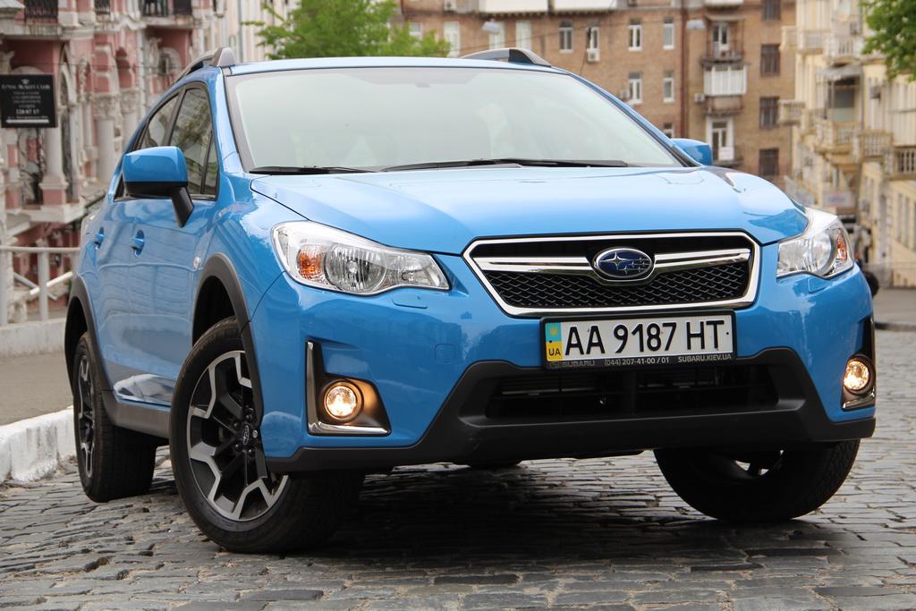 Subaru XV Внешность