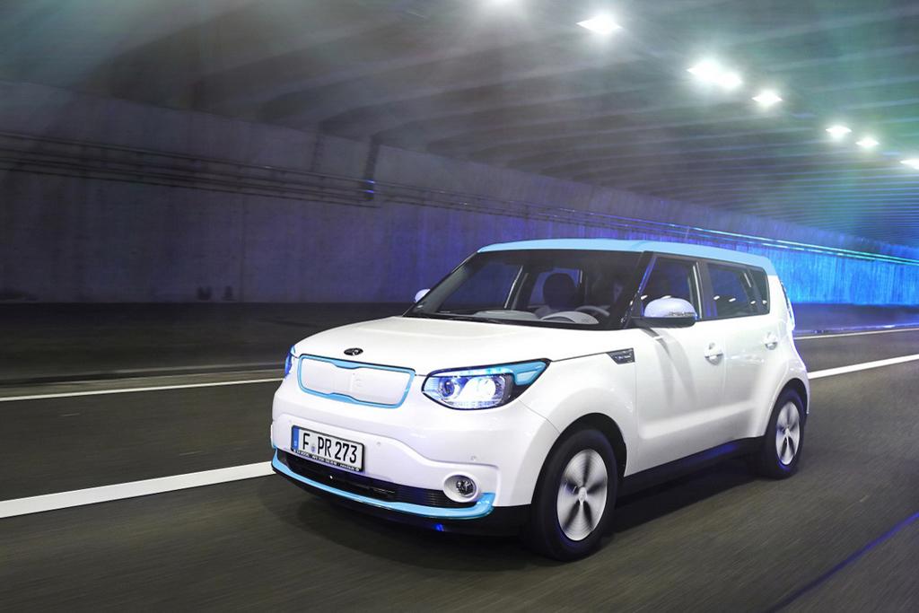 Бренд Kia познакомит украинцев с электромобилем Kia Soul EV