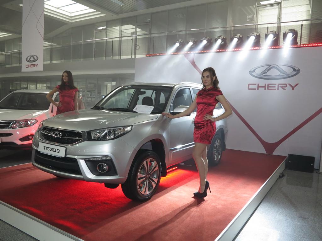 Кроссовер Chery Tiggo 3 презентован в Украине