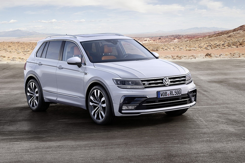 Начат прием заказов на новый Volkswagen Tiguan