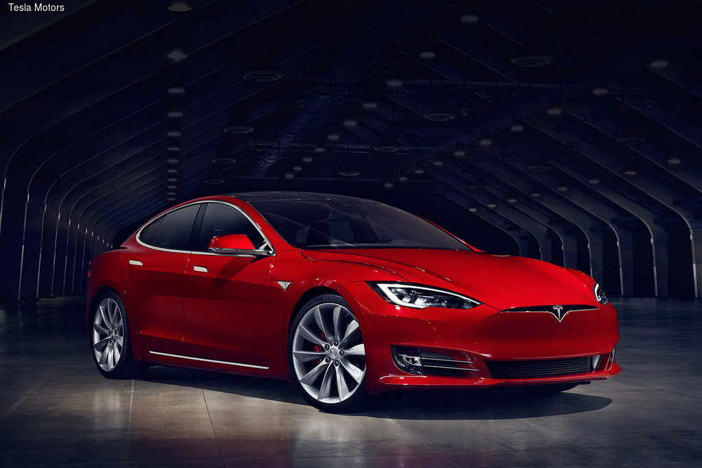 Обновленный электромобиль Тесла признан самым быстрым по разгону