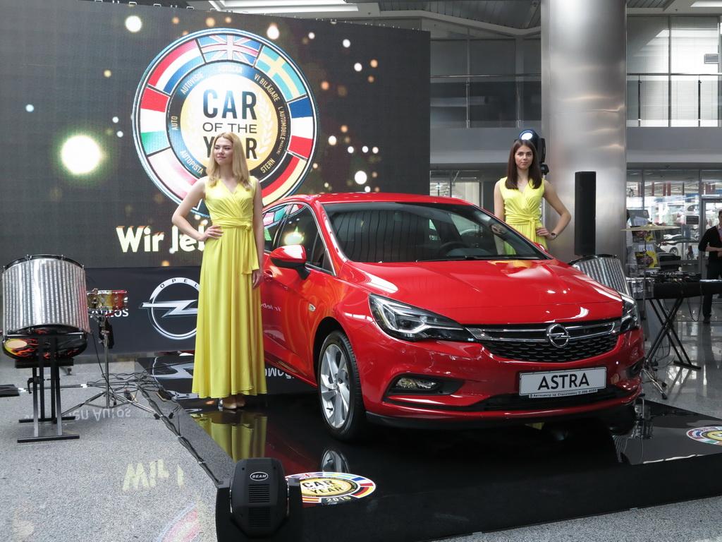 В Украину приехала Opel Astra K