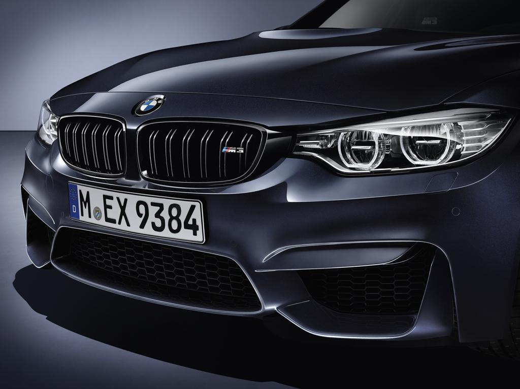 BMW M3 «30 Years M3» радиаторная решетка