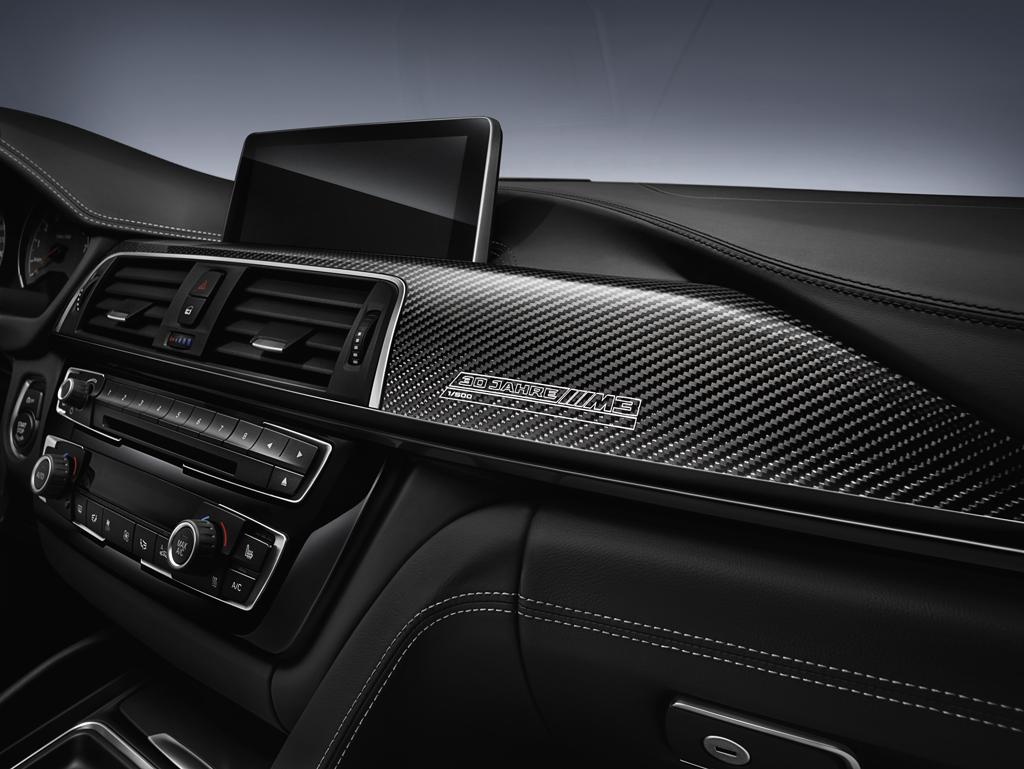 BMW M3 «30 Years M3» приборная панель