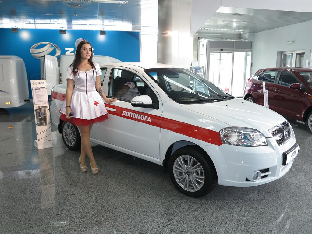 ZAZ показал новые автомобили для медиков (+ВИДЕО)