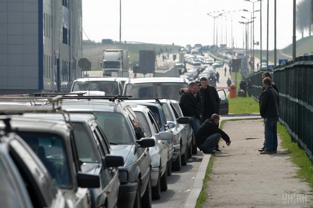 На украинско-польской границе