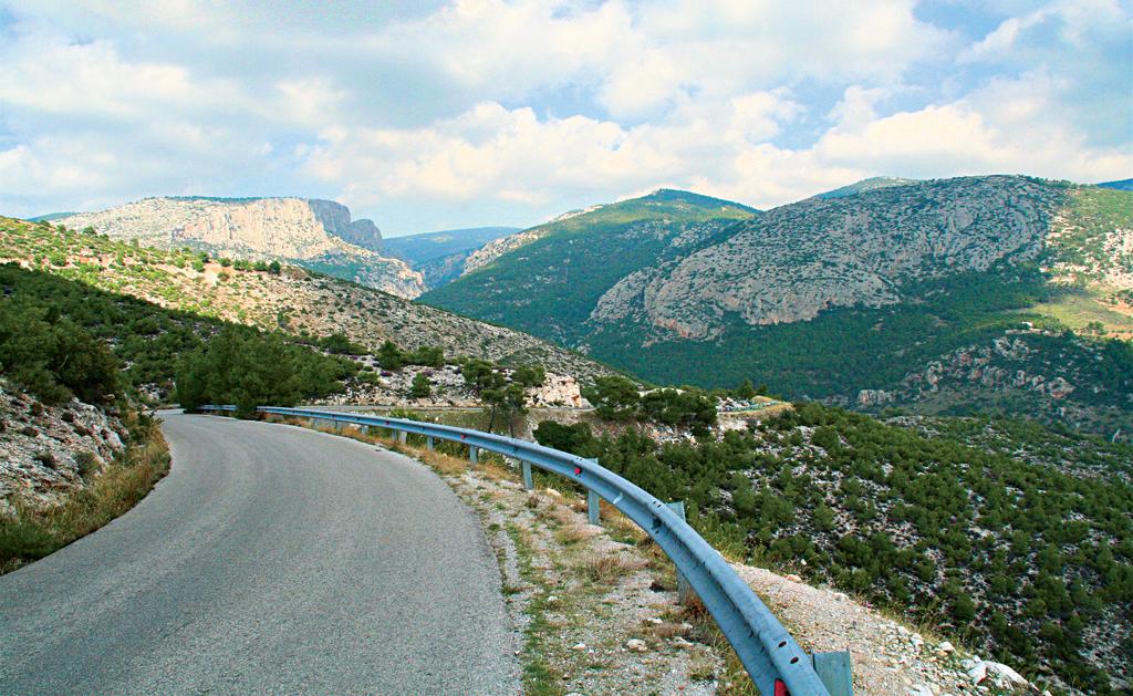 По Греции на автомобиле