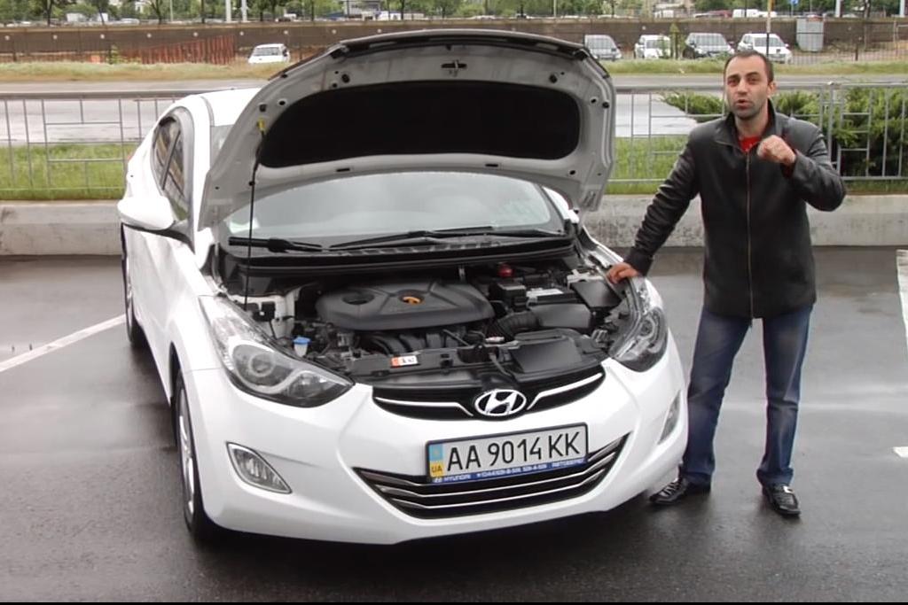 Hyundai Elantra б/у