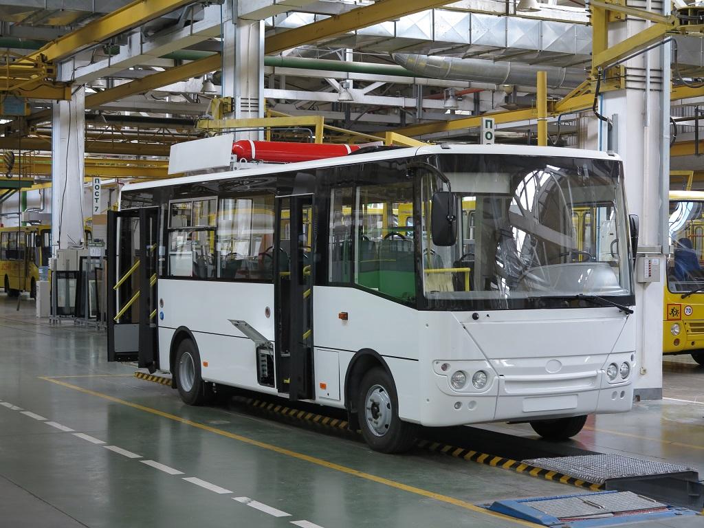 Автобус на газе Богдан А221.15