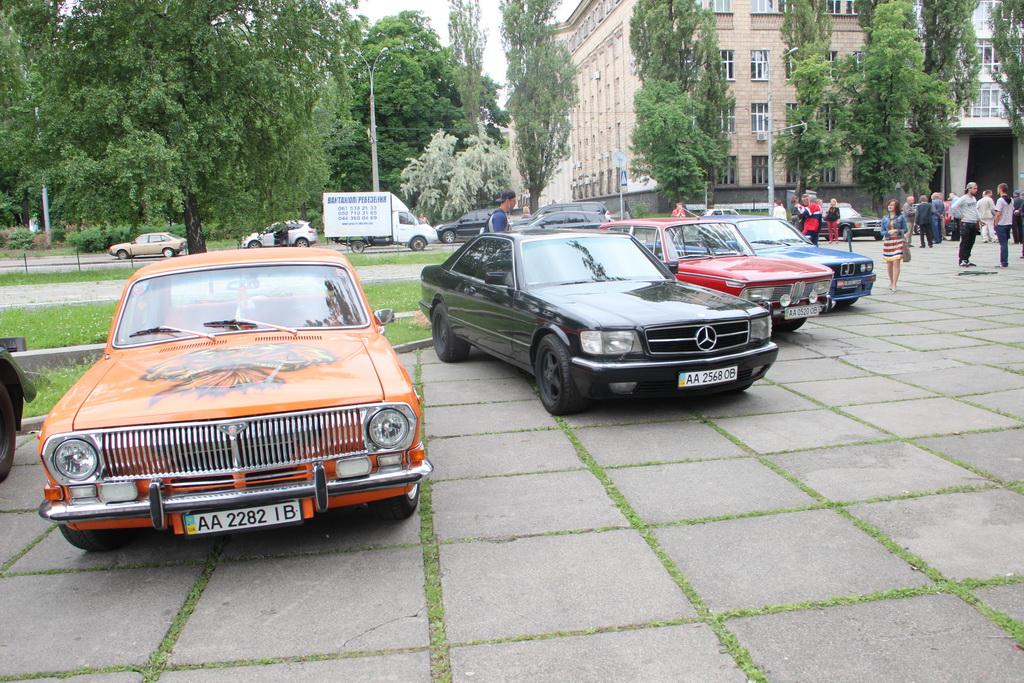 В Киеве пройдет парад ретро техники