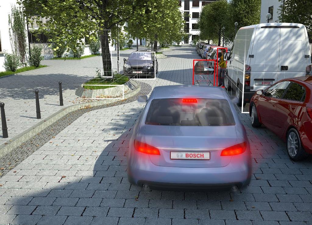 Автомат торможения перед пешеходами