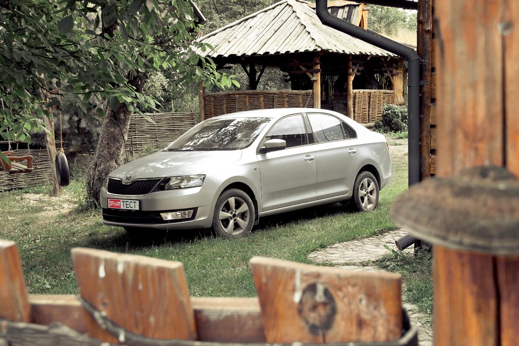 Долгосрочный тест Skoda Rapid: поездка в Прикарпатье