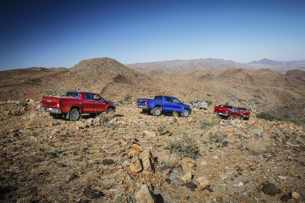 Toyota Hilux в Намибии