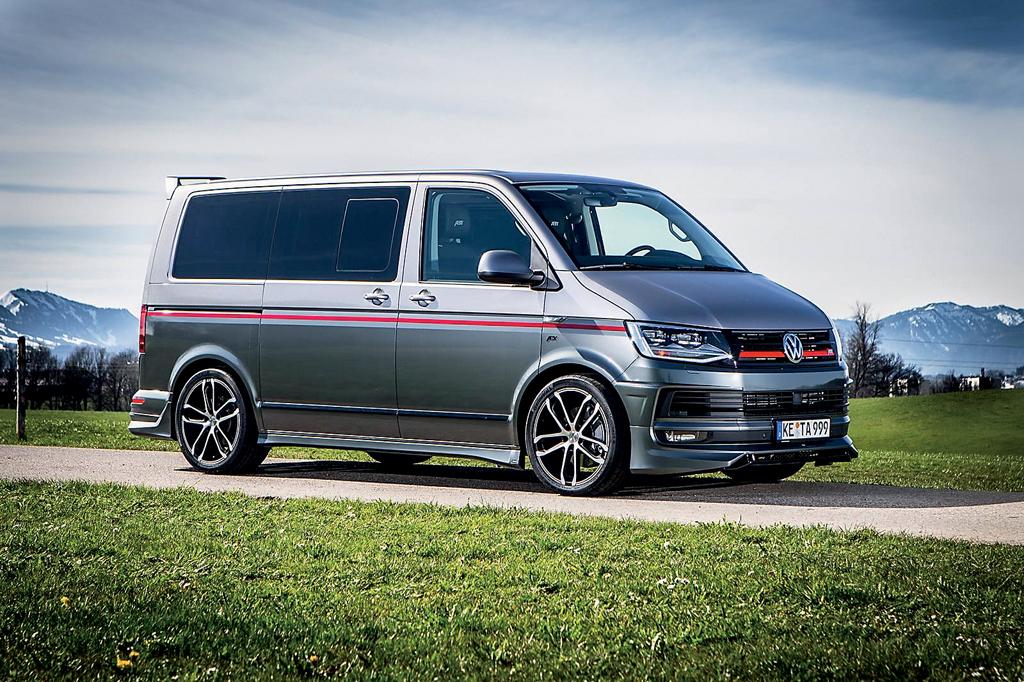 ABT Sportline выполнило тюнинг для Volkswagen Transporter Т6
