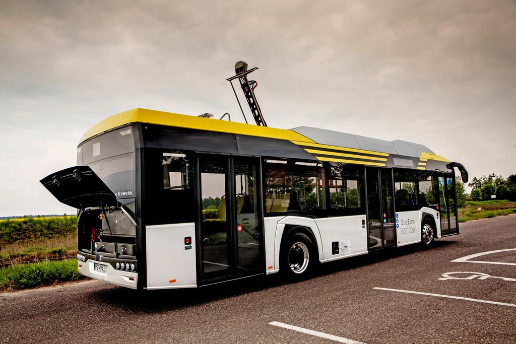 Электробус Solaris Urbino