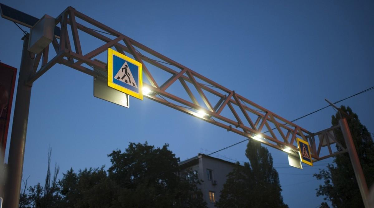 Наземні пішохідні переходи Києва отримають нове освітлення