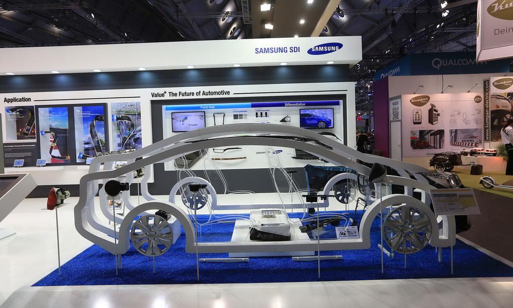 Samsung войдет в долю с производителем электромобилей
