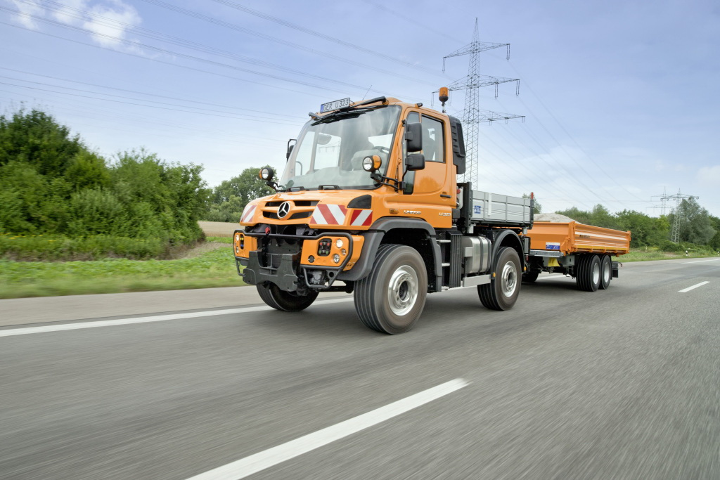 Mercedes-Benz подготовил топовый Unimog