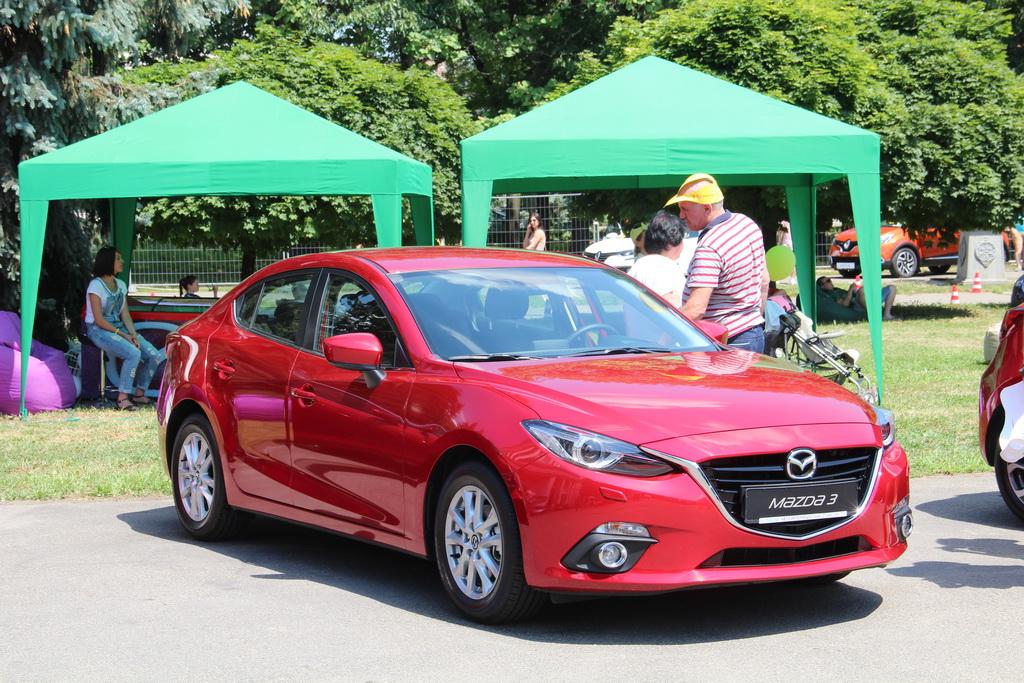 Mazda at NewCasFest 16