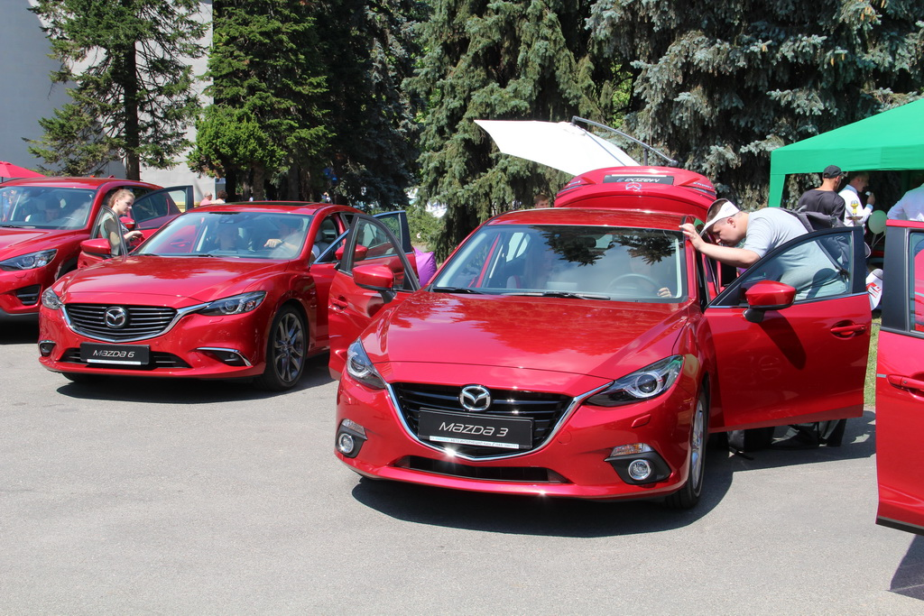 Mazda at NewCasFest 19