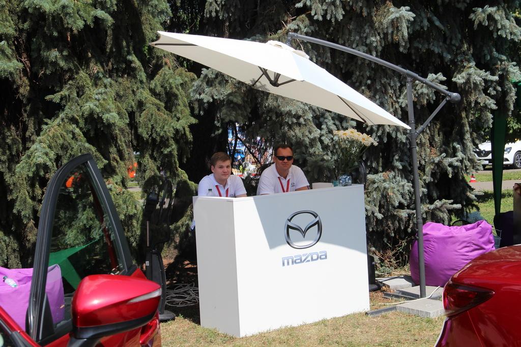 Mazda at NewCasFest