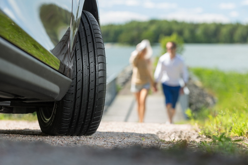 проверка шин перед поездкой