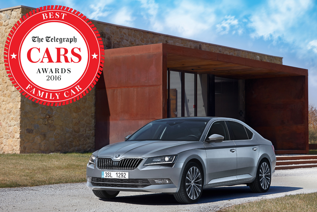 Skoda Superb Awards