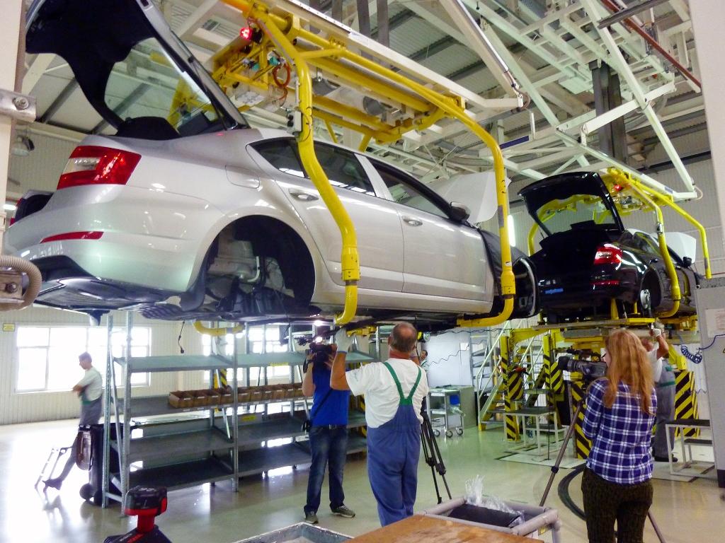 Автопроизводство в Украине выросло почти вдвое