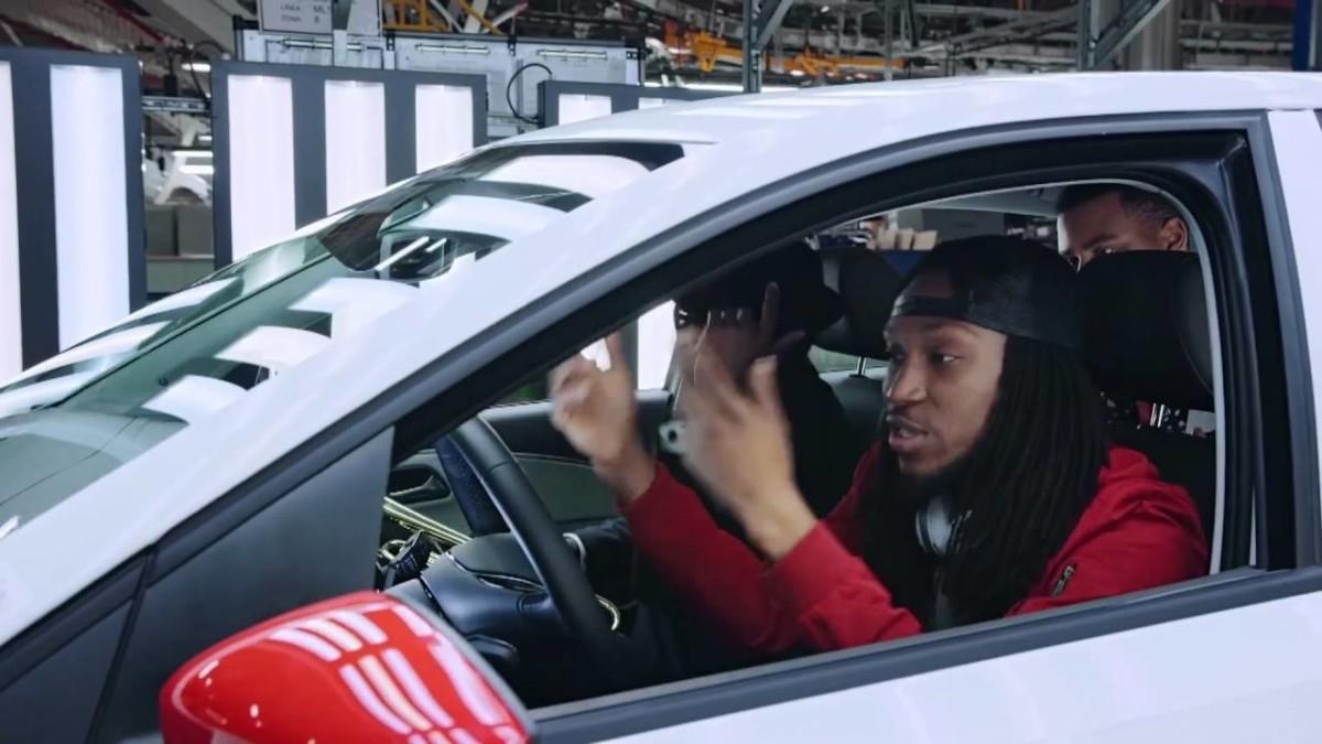 Volkswagen Polo c удивительной акустикой