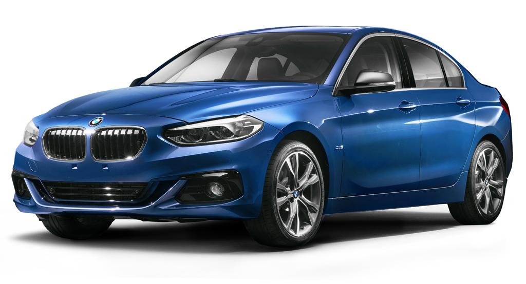 Новый седан BMW 1-ой серии