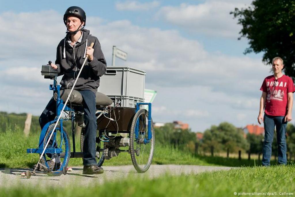 Велосипед для слепых стал реальностью