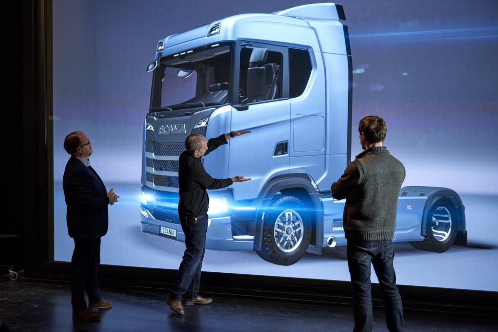 Новые грузовики Scania