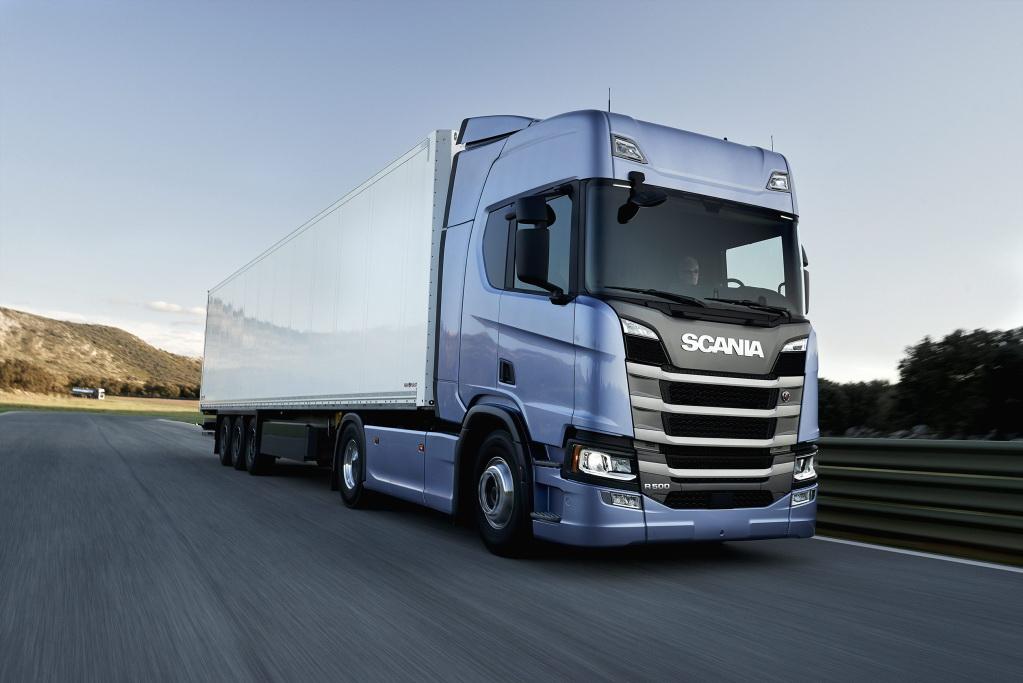 Грузовики Scania нового поколения