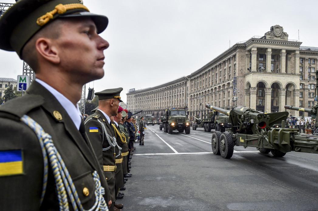 На військовому параді у Києві
