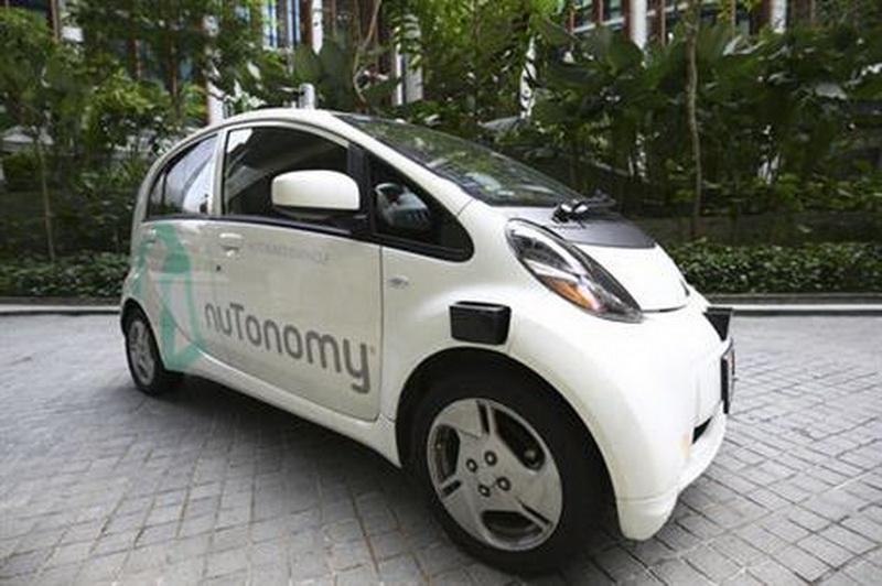 Самоуправляемые такси nuTonomy