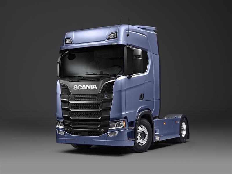 Премьерный показ грузовиков Scania нового поколения.