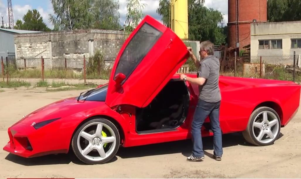Суперкар своими руками собрал бывший конструктор ЛАЗа