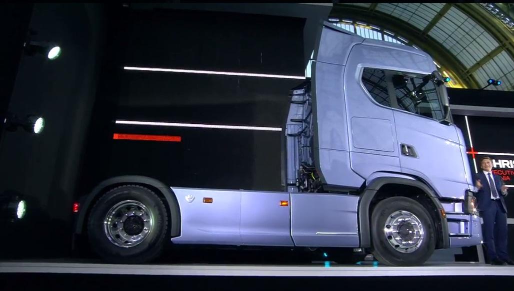 Прем'єрний показ вантажівок Scania нового покоління. Онлайн-трансляція