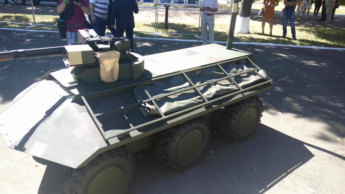 беспилотное тактическое многоцелевое транспортное средство «Фантом»