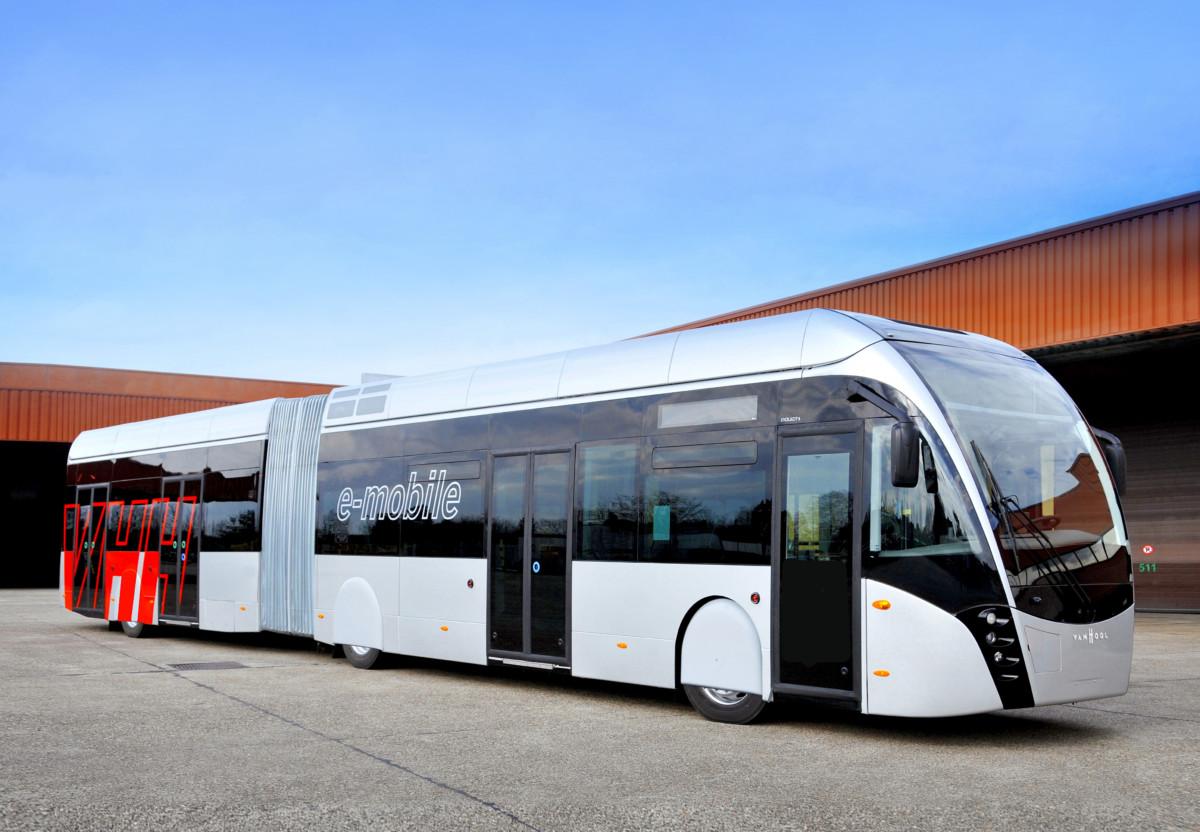 Трамбус Van Hool Exqui City стал электробусом