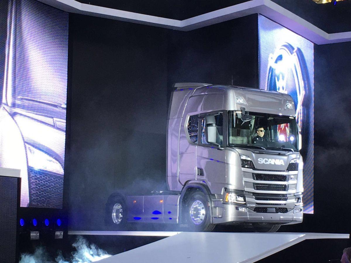 Премьерный показ грузовиков Scania нового поколения. Онлайн-трансляция