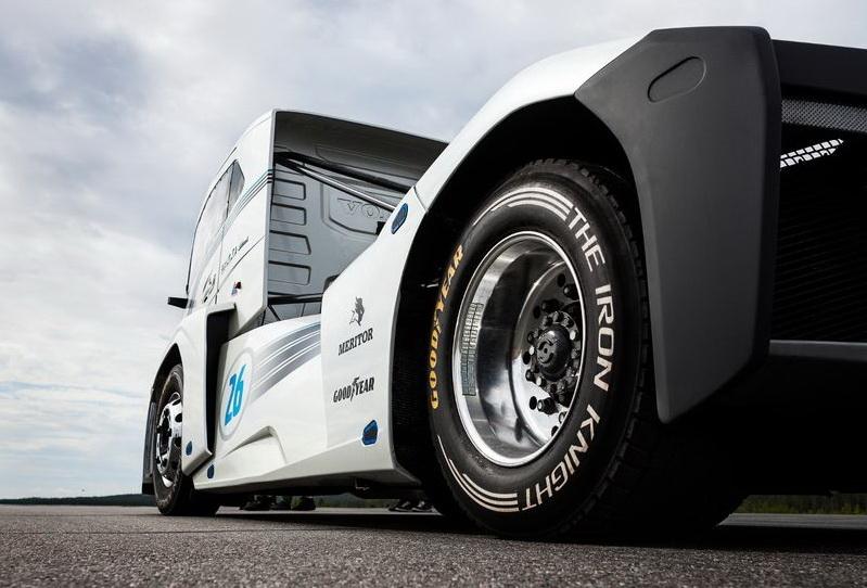 Грузовые шины Goodyear – самые быстрые в мире