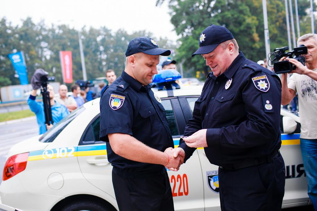 Автомобили ZAZ FORZA и ZAZ VIDA поступили на службу в полицию охраны