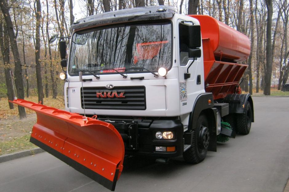 Комбинированная дорожная машина на шасси КрАЗ-5401С2