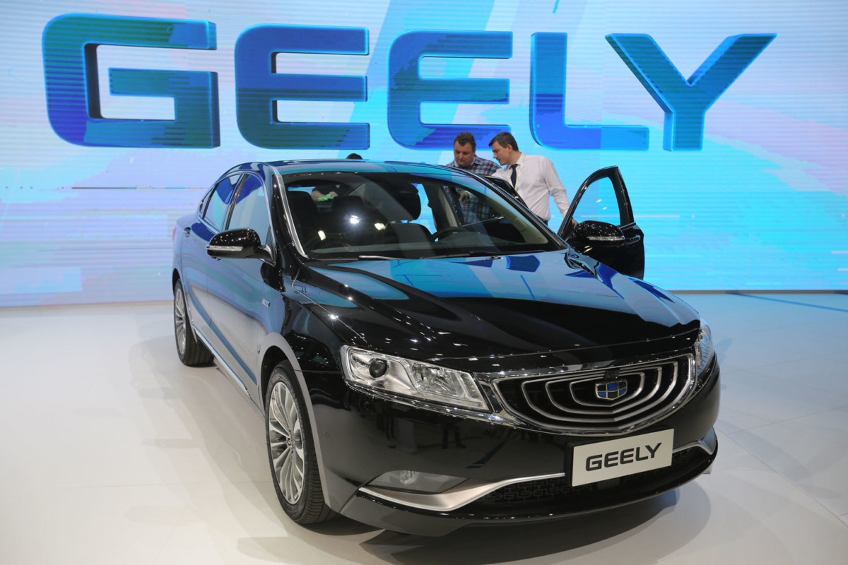 ММАС 2016. Geely Emgrand GT