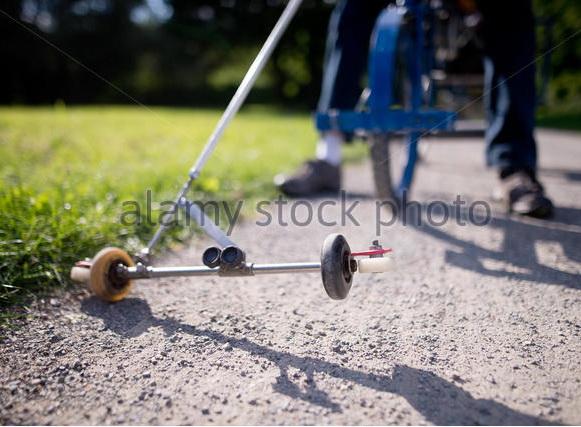 Велосипед для слепых