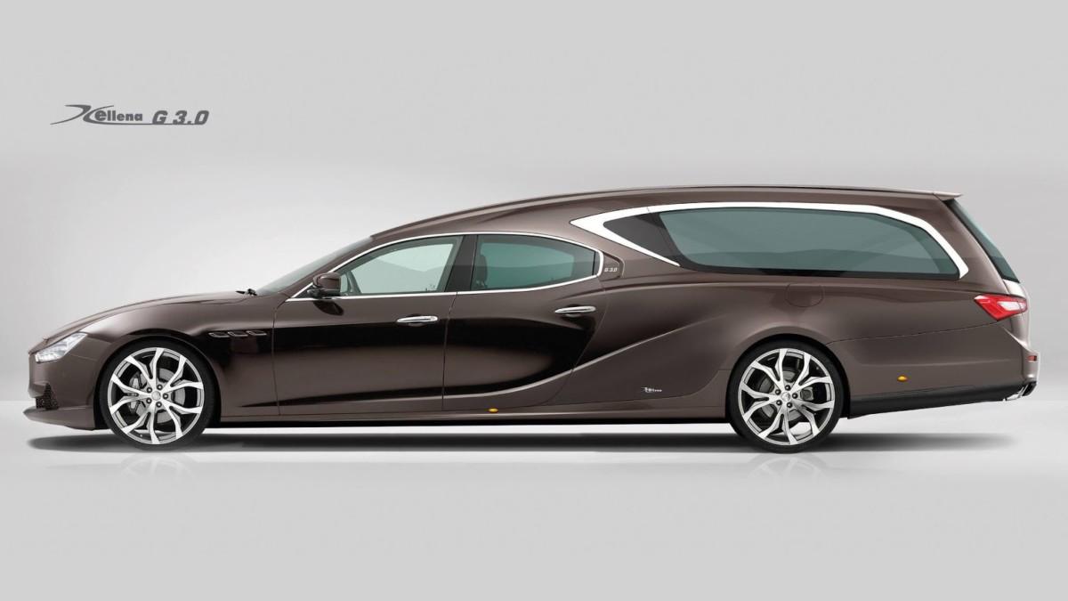 """Maserati Ghibli примерил """"грустный"""" кузов"""