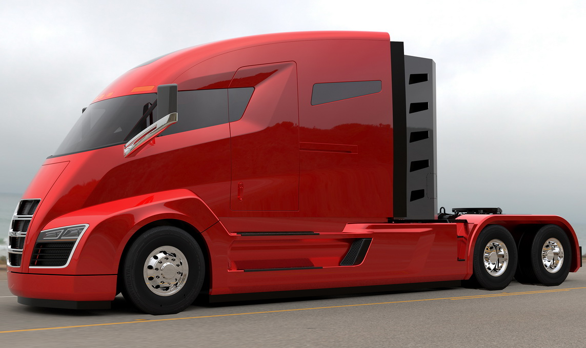 Супергрузовик Nikola One переходит на водород