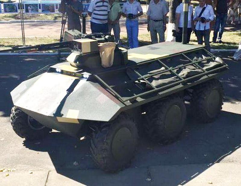 Безпілотний тактичний багатоцільовий транспортний засіб «Фантом»